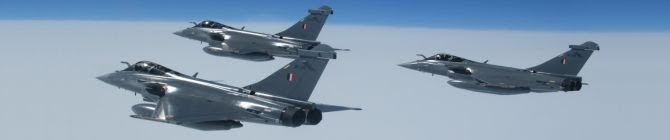 IAF Formally Inducts Rafale Aircraft Into 101 Squadron Of Eastern Air Command