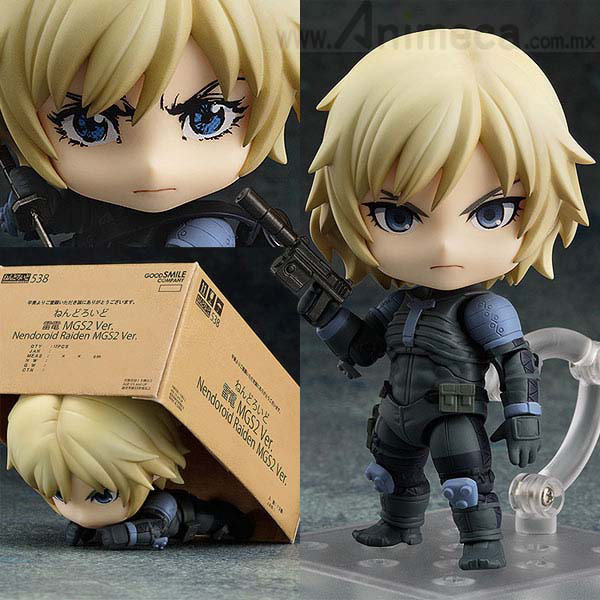 FIGURA RAIDEN MGS2 Ver. NENDOROID Metal Gear Solid 2 Sons of Liberty