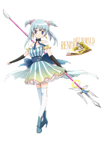 ANIME   FAMILY RENDERS: RENDER#79 - MAGIA RECORD BY FLUORALD