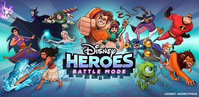 Disney Heroes: Battle Mode (MOD, Skill Hack/Freeze) APK Download