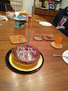Cake with Happy Birthday Erik