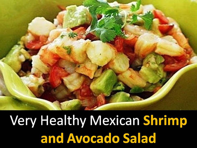 Mexican Shrimp and Avocado Salad