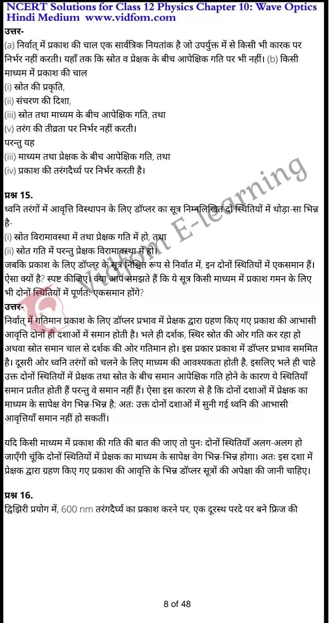 class 12 physics chapter 10 light hindi medium 8