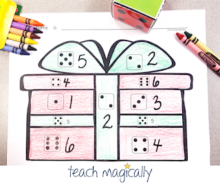 Teach Magically Subitizing Number Sense Gift Picture