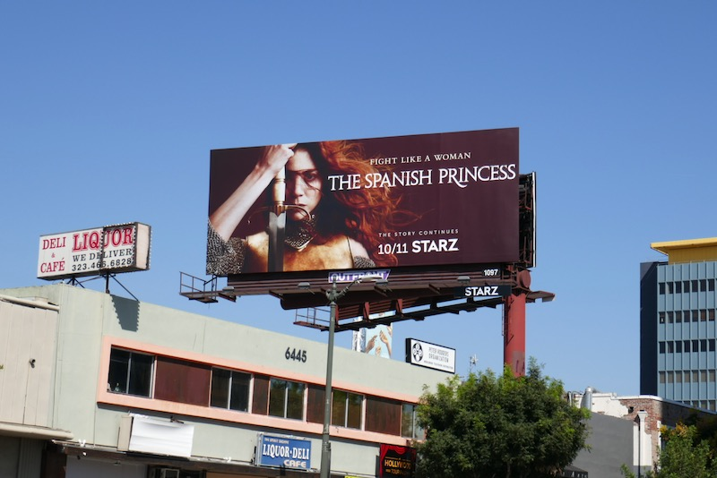 Spanish Princess season 2 billboard