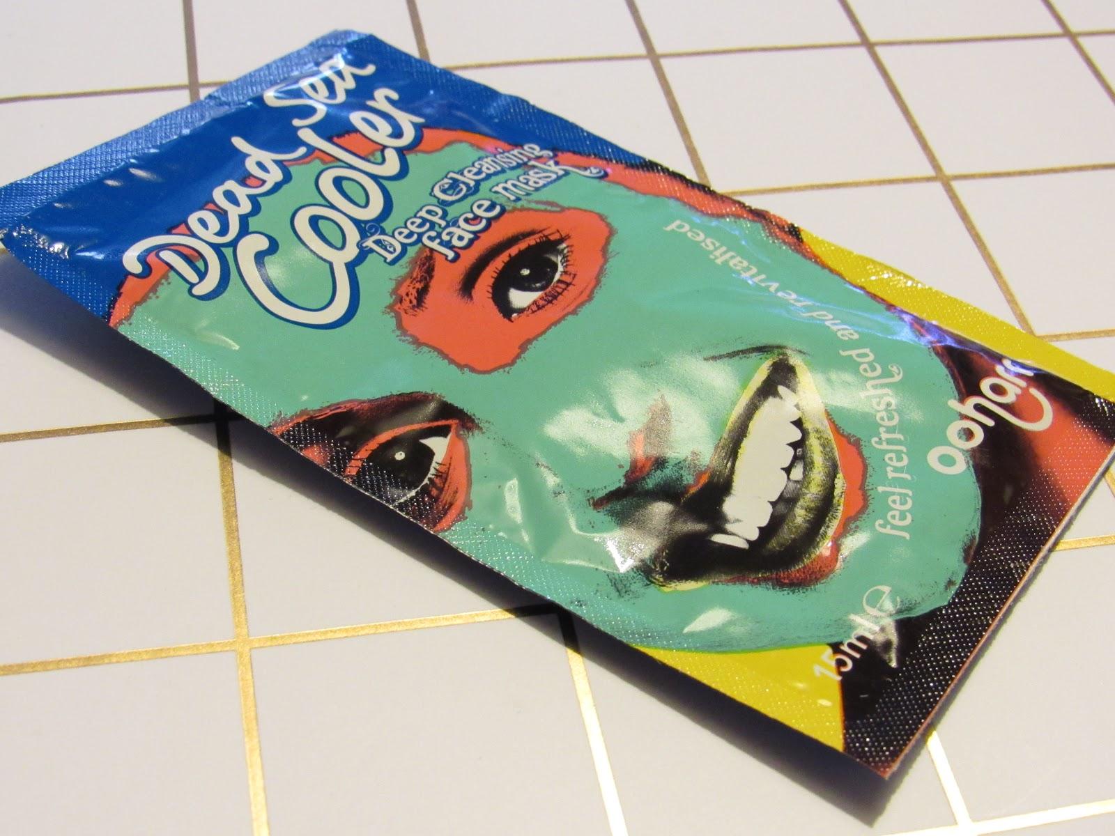 Blooming Fiction, lifestyle blog, Ooharr Dead Sea Cooler Face Mask