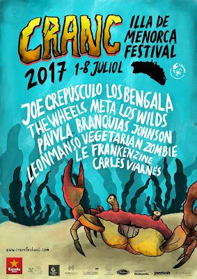 Cranc 2017 en Menorca