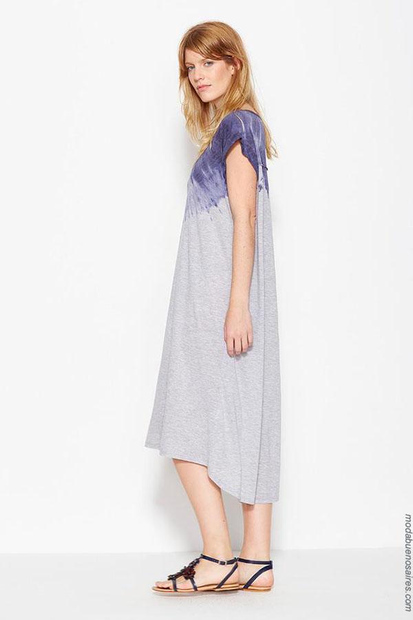 Vestidos de verano 2018 señoras. Ver Moda verano 2018. | Moda 2018 para mujer.