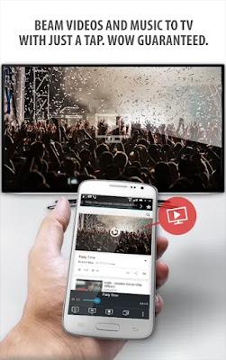 تطبيق Tubio - Cast Web Videos to TV, Chromecast, Airplay أندرويد لربط وعرض ومشاركة وتوصيل شاشة هاتف الأندرويد , مع التلفزيون العادي أو الذكي