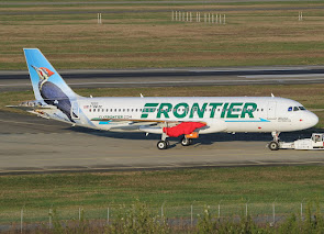 Latest A320 for Frontier at TLS
