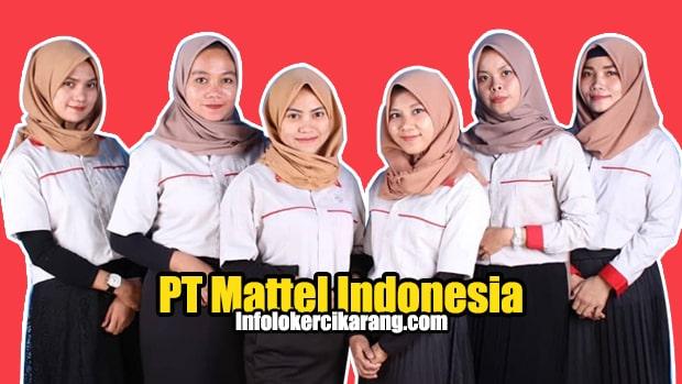 Lowongan Kerja PT Mattel Indonesia Cikarang