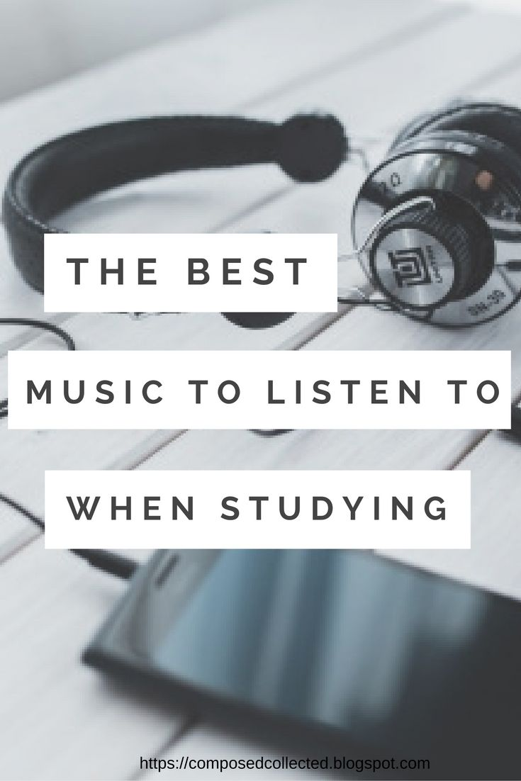 types of music to listen when studying