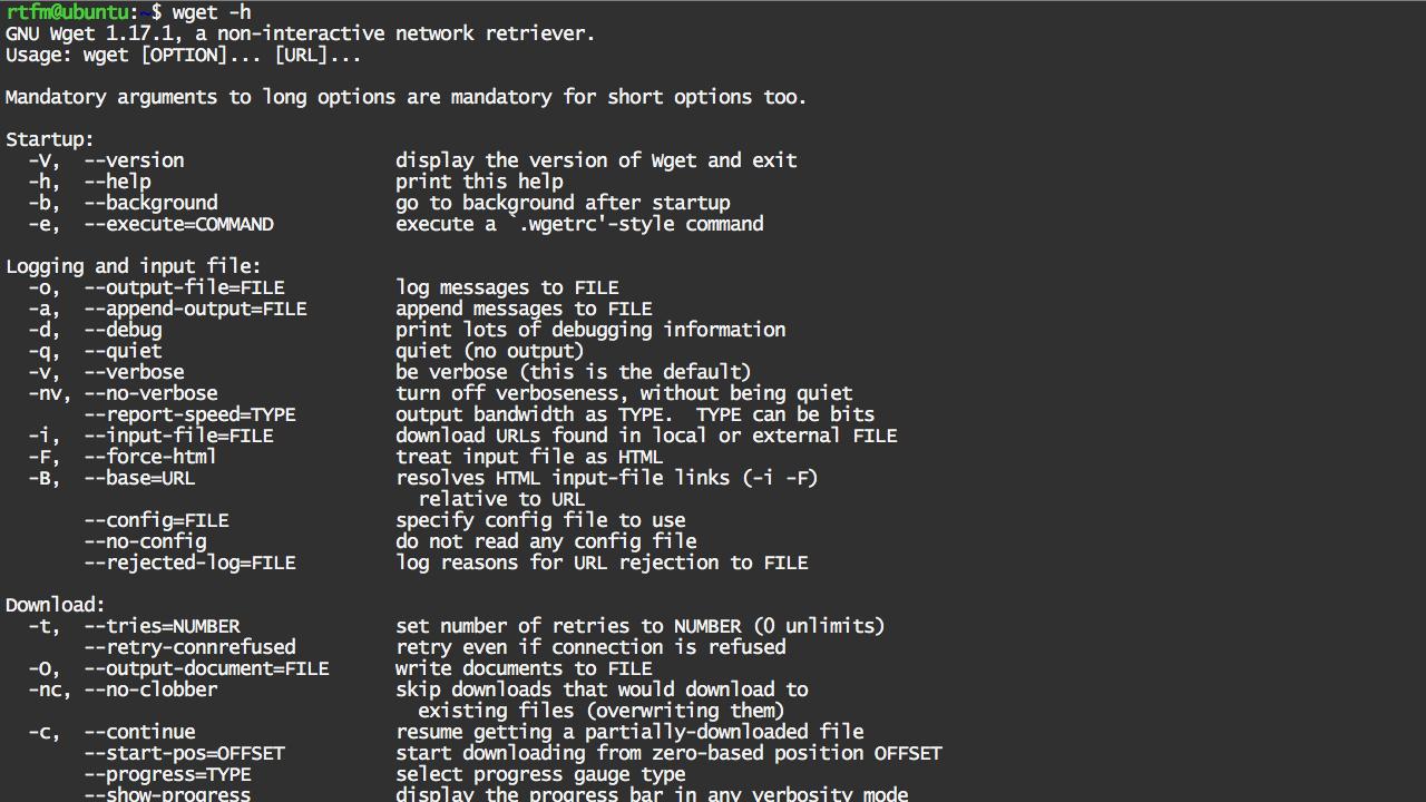 Linux: 10 примеров использования wget | 1denwin's blog