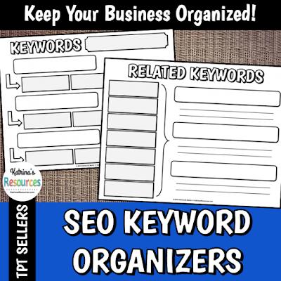 SEO Keyword Organizers