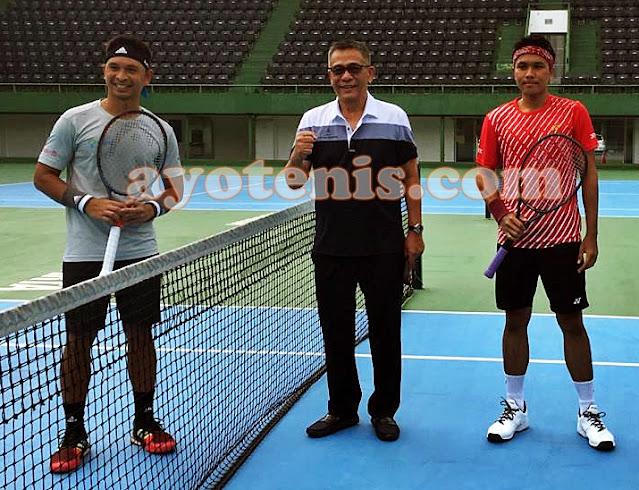 Menangi Duel Antar Pemain Davis Cup, Christo Buktikan Masih yang Terbaik di Negeri Ini