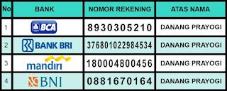Daftar Nomor Rekening Agen Resmi De Nature