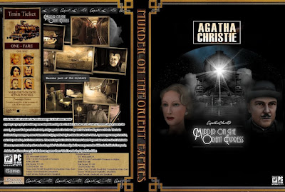 Jogo Agatha Christie - Murder on The Orient Express PC DVD Capa