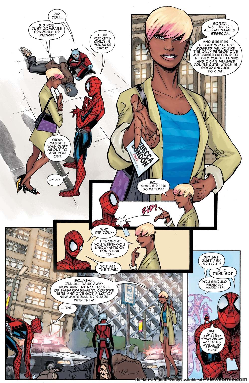 Peter Parker – The Spectacular Spider-Man 001 (2017) | Viewcomic