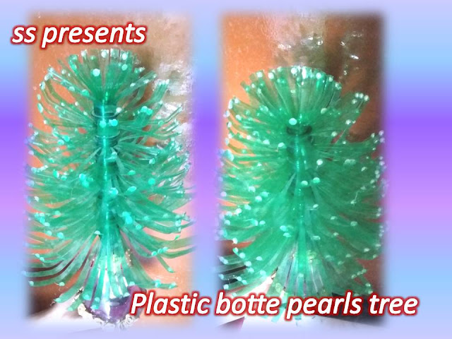 Here is plastic bottle crafts,kids crafts,plastic bottle show piece,plastic bottle room decor ideas,plastic bottle tree making at home,plastic bottle christmas tree,HOW TO MAKE PLASTIC BOTTLE AND PEARLS TREE