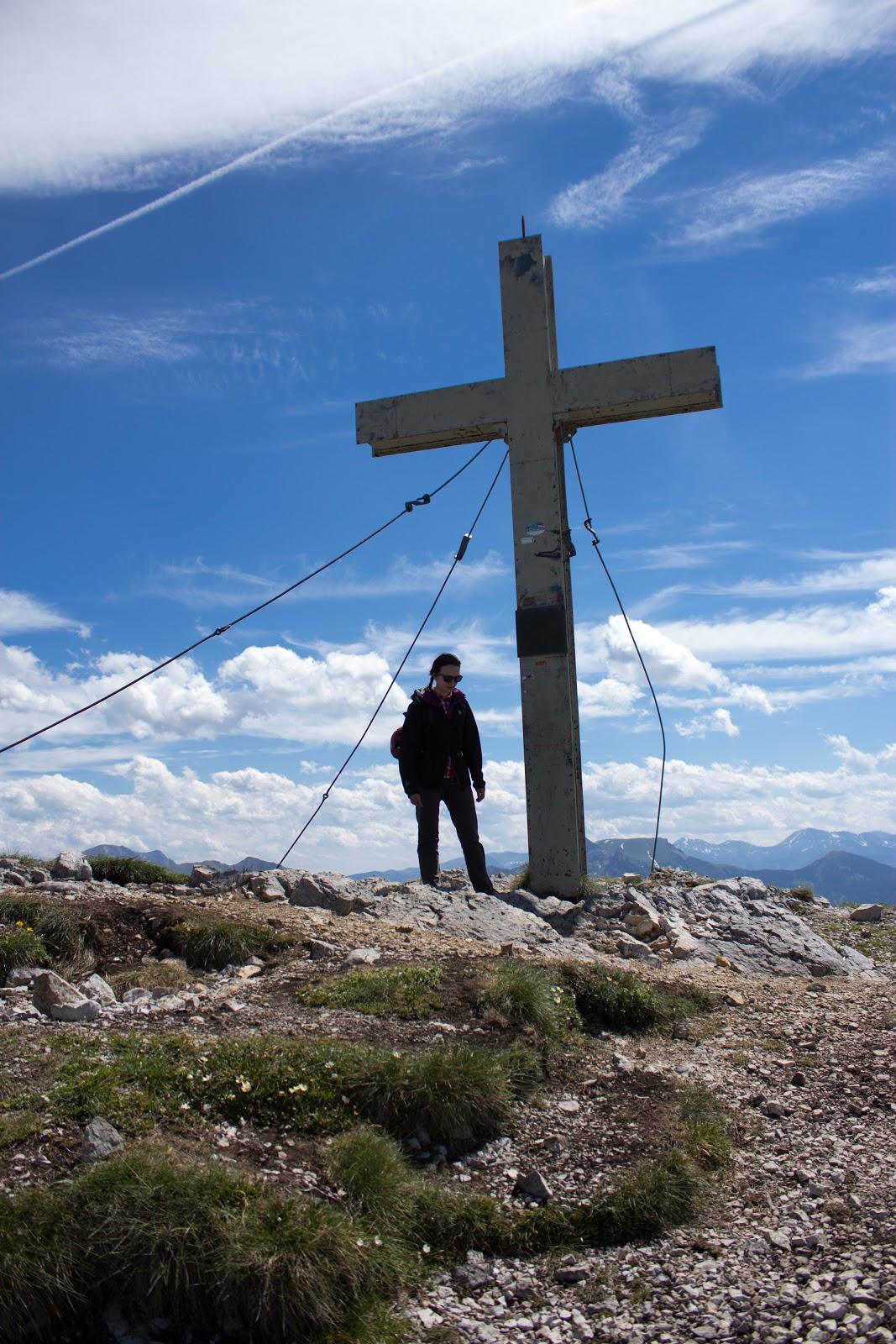 Pfaffenstein Eisenerz Gipfelkreuz