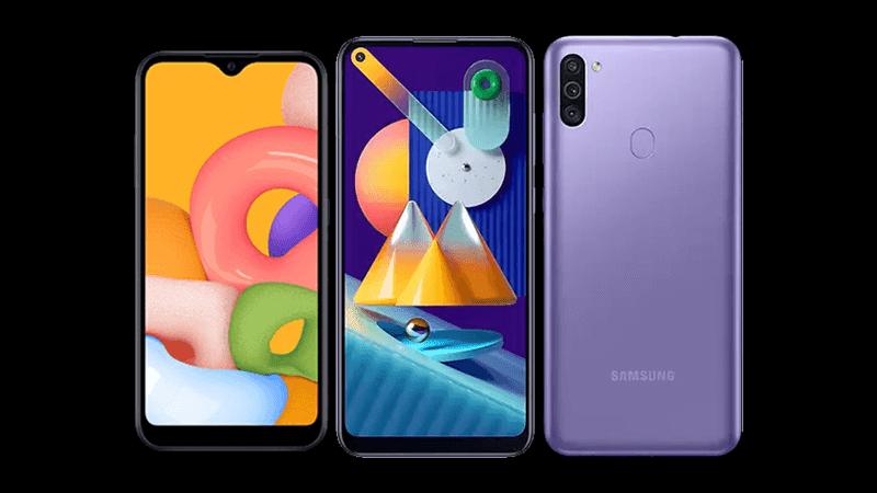 Samsung reveals Galaxy M01 and M11 budget smartphones