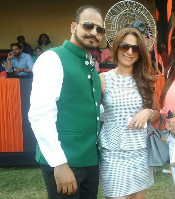 Daksh Oberoi with Dimple Saluja-