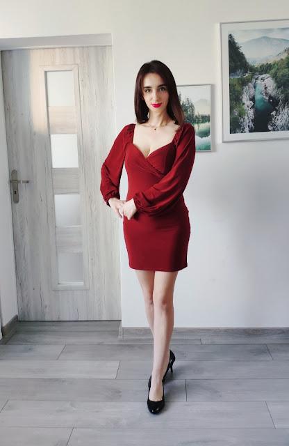 Femmelux - Moje ostatnie zamówienie - Sukienka, zestaw Asia i Tinley oraz prążkowany top
