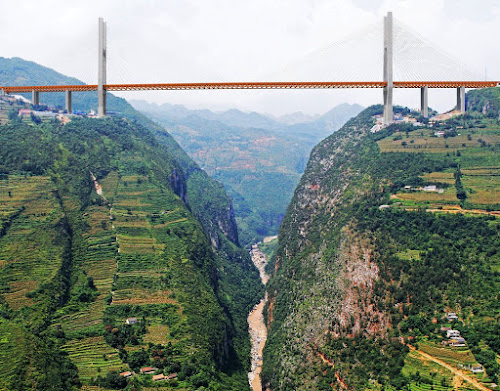 Ponte mais alta do mundo - Ponte Dunge - China