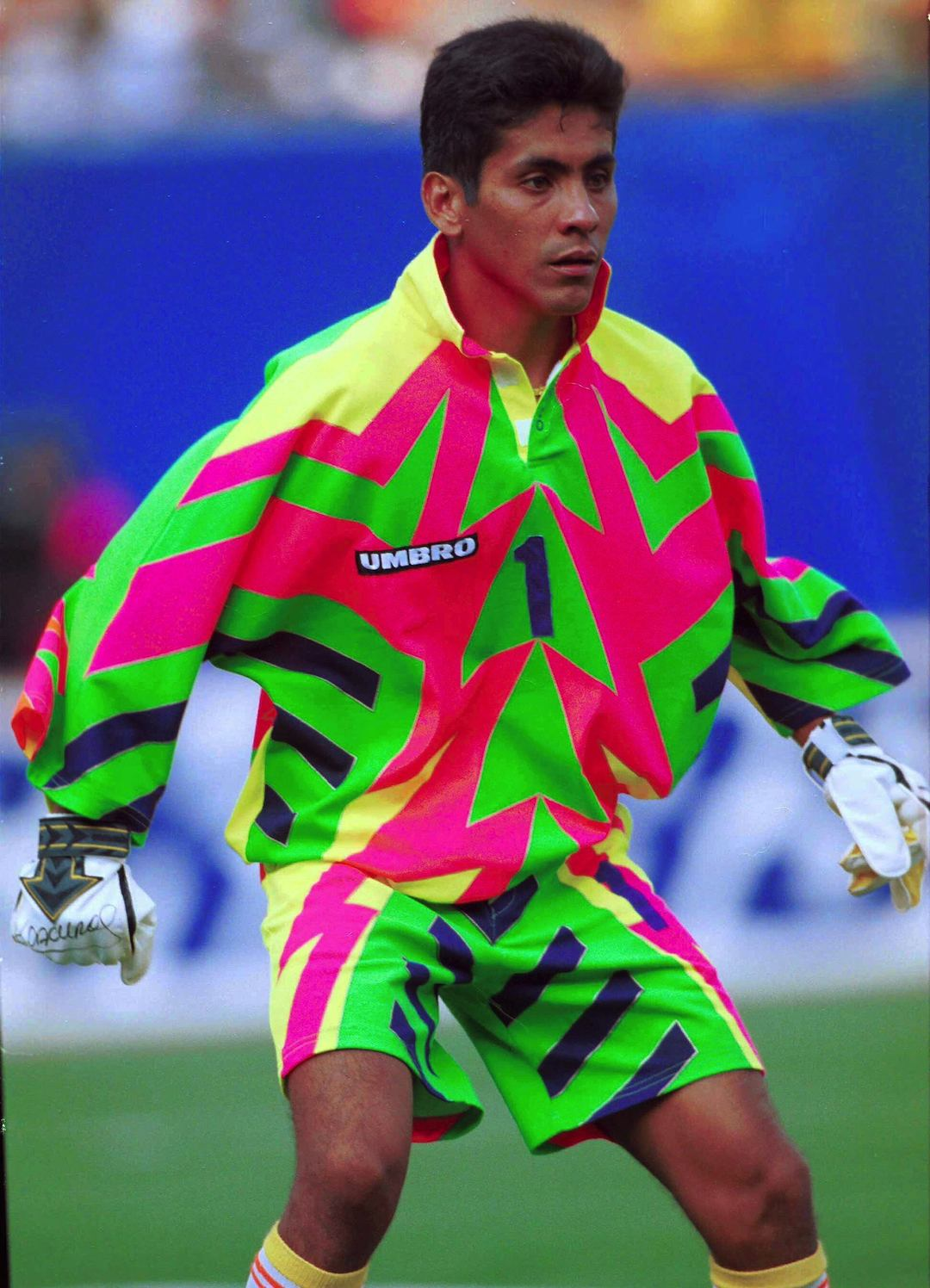 Inspired by The Infamous Jorge Campos 1994 World Cup Kit - Nike ...