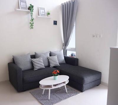 Desain Interior Ruang Tamu Terbaru 2019 Rumah Minimalis Type 36 Yang Menarik 4