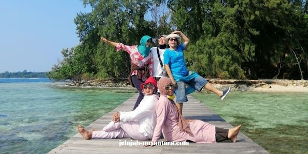 paket wisata private trip pulau harapan murah