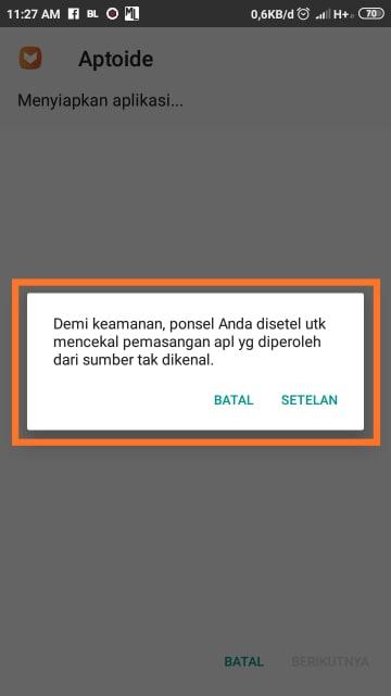 Cara Instal File APK di Android
