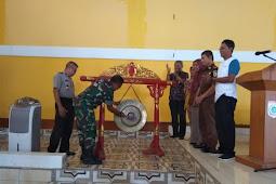Cari Bibit, 210 Atlit Ikuti Karate Open Championship Dandim Sumbawa Barat Cup