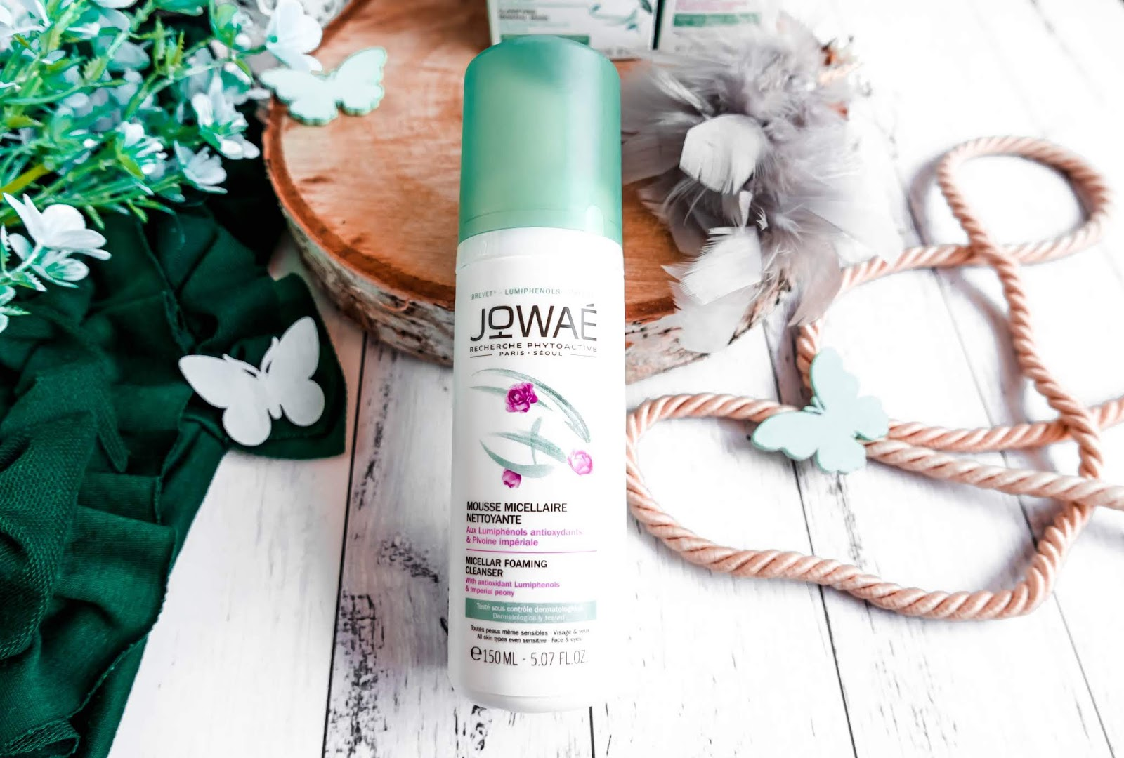 Jowae. Micellar Foaming Cleanser