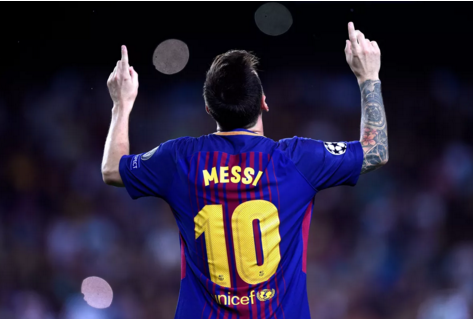 مباراة برشلونة وخيتافي ميسي 06-01-2019 الليجا