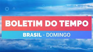 Previsão do tempo no Brasil – Domingo 31/10/2020 – Sul – Sudeste – Norte – Nordeste – Centro-Oeste