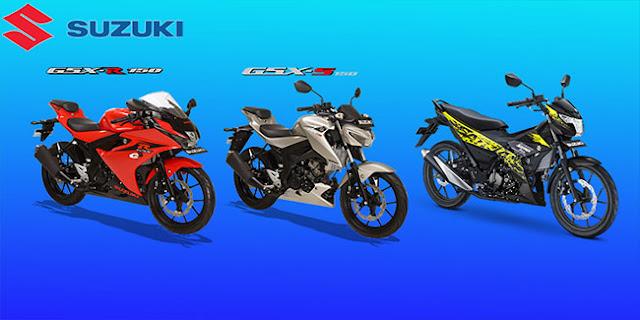 Daftar Kisaran Harga Kendaraan Motor Suzuki Terbaru