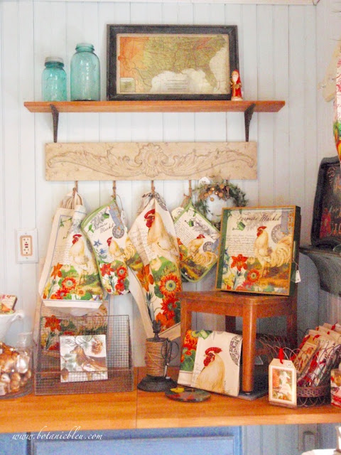 French Country Christmas Event needs DIY new shelves