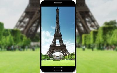 Tour Eiffel Monument - Fond d'Écran en FHD pour Mobile