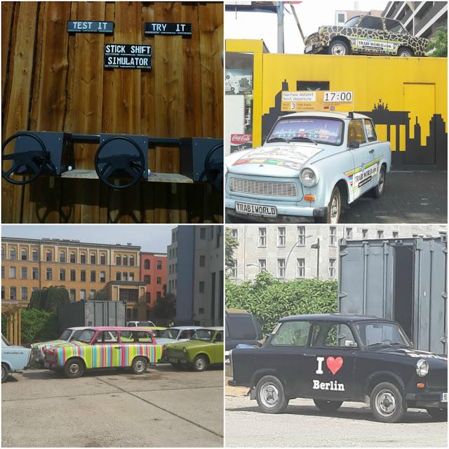 Trabi Safari - tour pelos principais pontos turísticos de Berlim no carro símbolo da Alemanha socialista