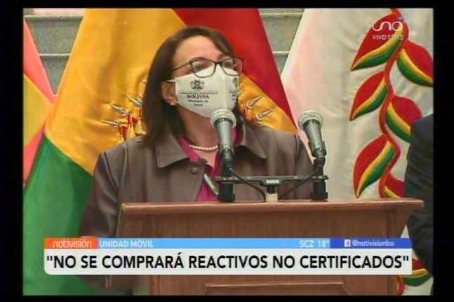 Gobierno decide reactivar proceso de adquisición de pruebas COVID-19 tras descartar presuntas irregularidades