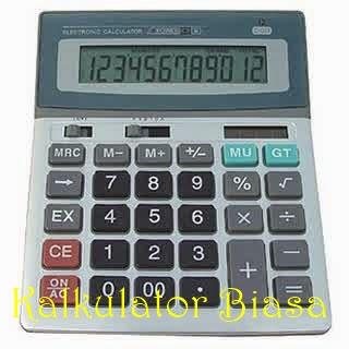 kalkulator biasa