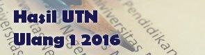 Pengumuman UTN Ulang 1 Tahun 2016