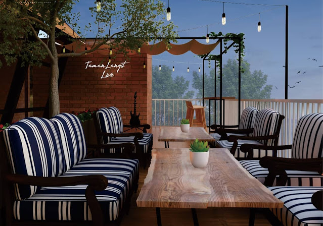 Taman Langit Cafe Baturaden