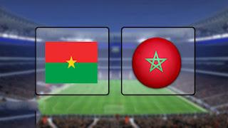 مشاهدة مباراة المغرب وبوركينا فاسو بث مباشر مباراة ودية  بتاريخ 06-09-2019