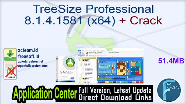TreeSize Professional 8.1.4.1581 (x64) + Crack_ ZcTeam.id