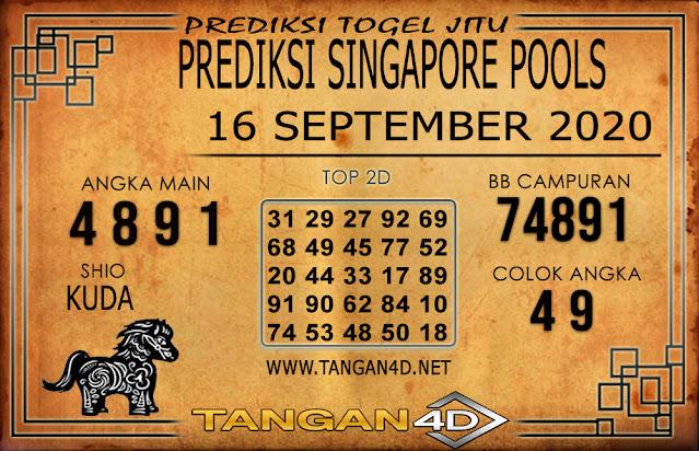PREDIKSI TOGEL SINGAPORE TANGAN4D 16 SEPTEMBER 2020