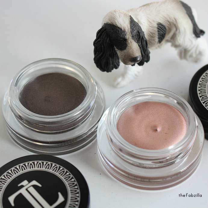 T. LeClerc Ombre Divine Cream Eyeshadow,  Rose Diaphne, Pourpre Vanite, Review, Swatch