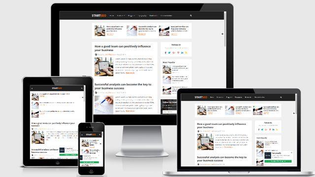 Template StartSeo Blogger