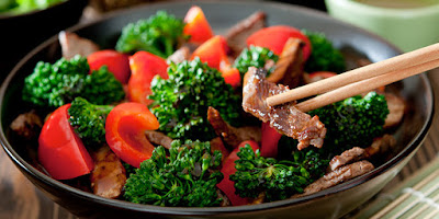 Beef with Broccoli Stir Fry ~ Team BeachBody Blog #stirfry